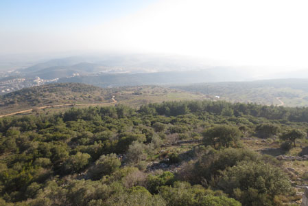 El-Muhraqa (The summit of Mount Carmel)