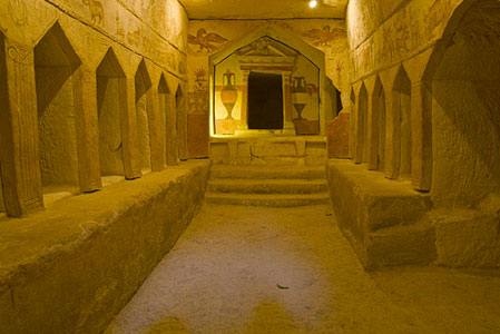 Beit Guvrin-Maresha National Park - Burial Caves