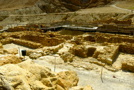 Qumran National Park – Dead Sea Scroll Caves