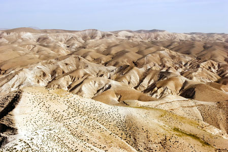 The Judaean Desert Hills