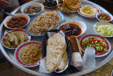 Druze Home Hospitality Lunch