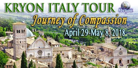 Kryon Italy Tour 2018