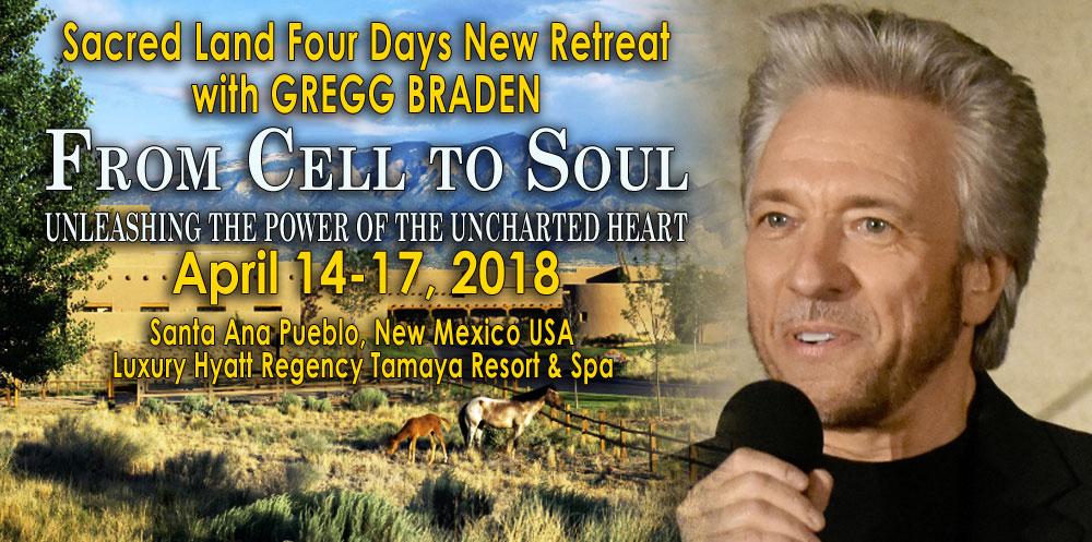 Gregg Braden Tamaya Retreat - April 14-17, 2018