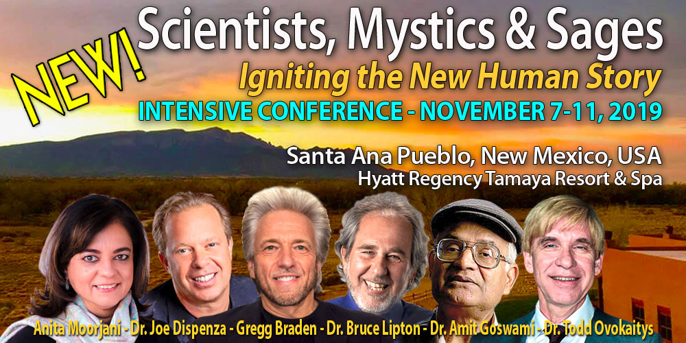 Scientists, Sages & Mystics Conference November 2019