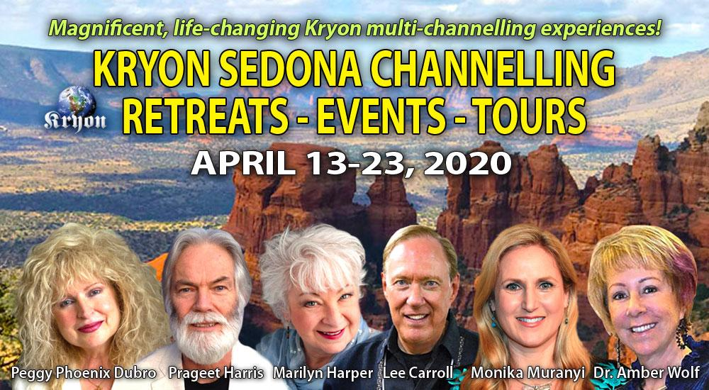 Kryon Sedona Events April 2020
