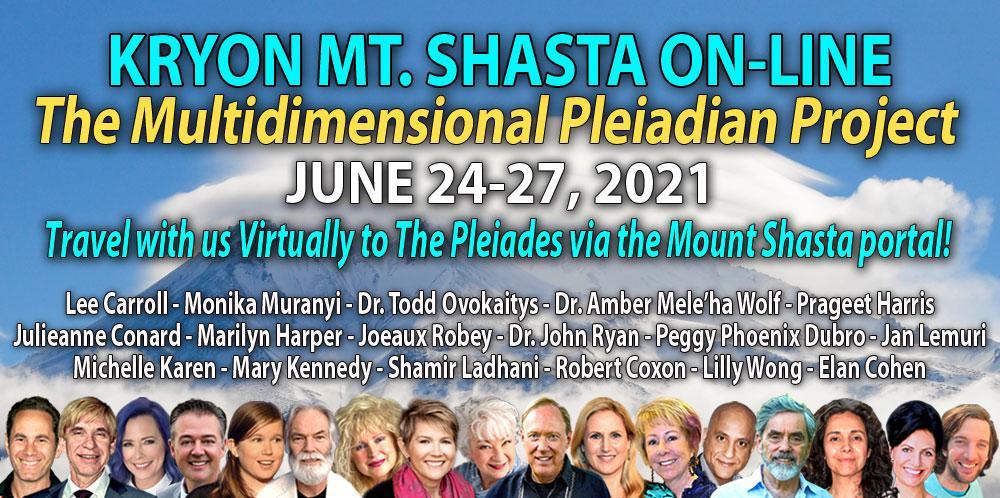 Kryon Mt. Shasta Celebration - June 23-28, 2001