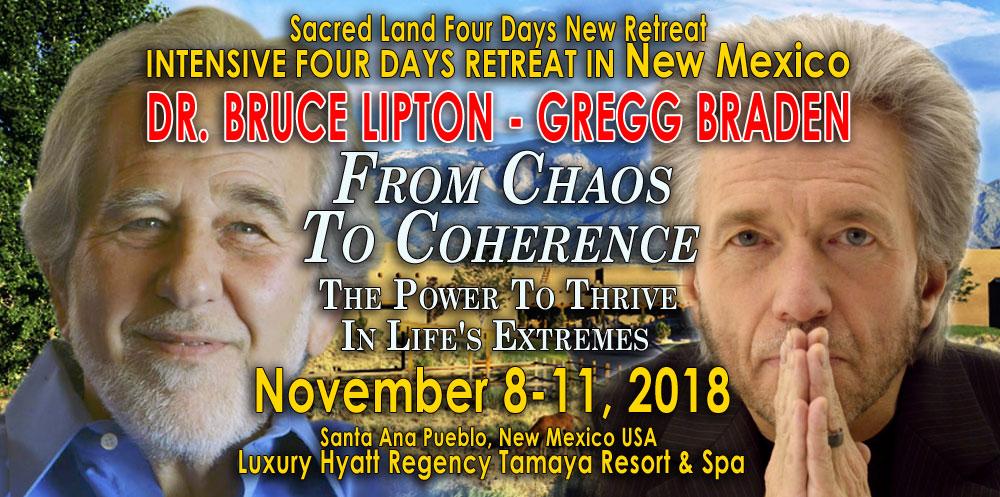 Gregg Braden & Bruce Lipton Tamaya Retreat - Nov 8-11, 2018